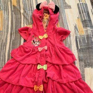 Minnie Mouse Disney bath robe